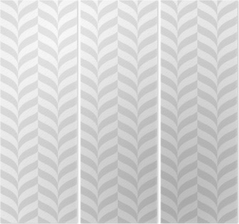 Geometric pattern, vector seamless background Triptych
