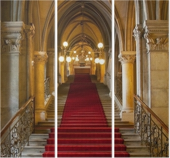 Gothic Castle Interior Canvas Print O PixersR We Live To Change