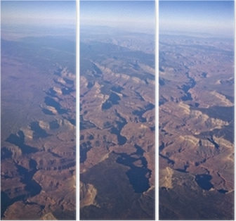 Grand Canyon and the curvature of the earth Wall Mural