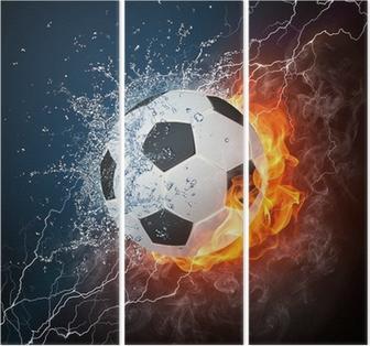 Soccer Ball Triptych