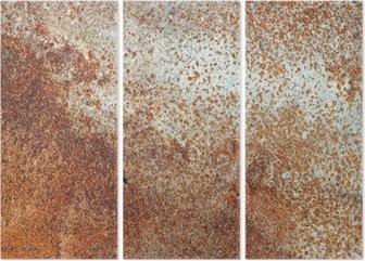 Behang Kinderkamer Scandinavisch : Leinwandbild braun rost metallplatte hintergrund u2022 pixers® wir