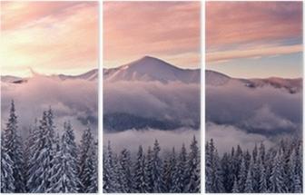 Triptychon Berg