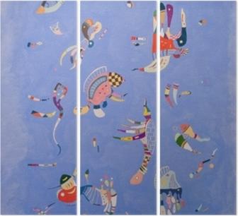 Triptychon Wassily Kandinsky - Himmelblau
