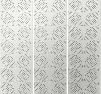 Triptych Bezešvé vzor. Ručně tažené. Květ. design pozadí