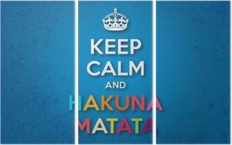 Håll lugn och Hakuna Matata