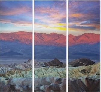 Triptyque Death valley