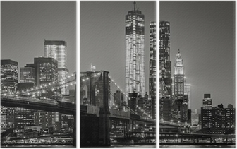 Triptyque New York de nuit