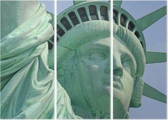 Triptyque Statue de la Liberté, Liberty Island, New York City
