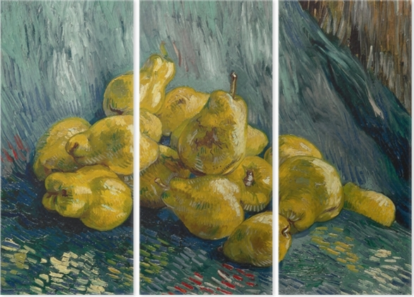 Triptyque Vincent van Gogh - Nature morte avec coings - Reproductions