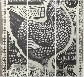 Triptyque Vintage Poultry and Eggs Advertising Page