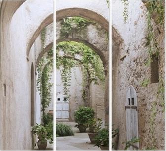Trittico Vecchia galleria al Castello