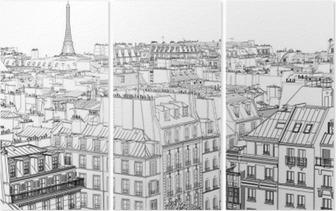Tryptyk Dachy w Paryżu