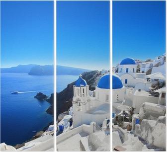Tryptyk Grecja - Santorini (Oia)