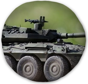 Wheeled Tank Destroyer Centauro VCR105 Model Kit