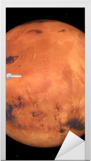 Türaufkleber Der Mars