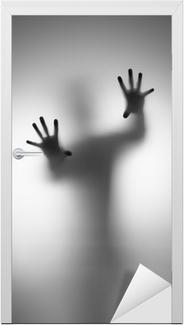 Türaufkleber Geister Hand