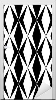 Türaufkleber Geometric Design