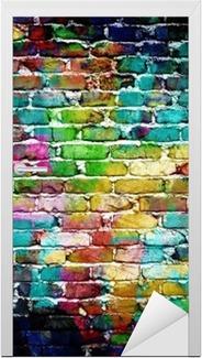 Türaufkleber Graffiti-Mauer