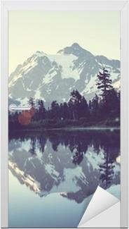 Türaufkleber Malerischer See