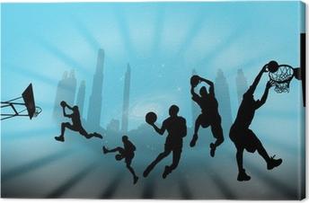 Tuval Baskı Баскетбол
