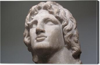 Tuval Baskı Büyük İskender M.Ö. 356-323