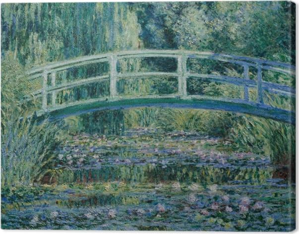 Tuval Baskı Claude Monet - Beyaz Waterlilies - Benzetiler