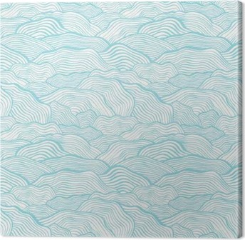 Tuval Baskı Dalgalı ölçekli doku ile sorunsuz desen