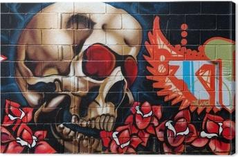 Tuval Baskı Graffiti