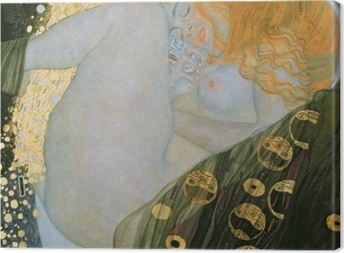 Tuval Baskı Gustav Klimt - Danae