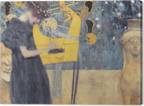 Tuval Baskı Gustav Klimt - Müzik - Benzetiler