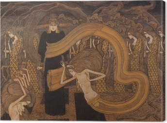 Tuval Baskı Jan Toorop - Fatalismo
