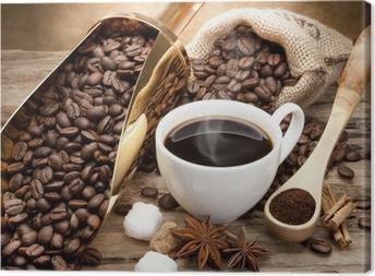 Tuval Baskı Kahve