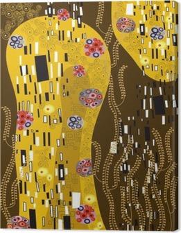 Tuval Baskı Klimt ilham soyut sanat