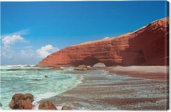 Tuval Baskı Legzira plaj, Sidi Ifni, Souss-Massa-Deraa, Fas