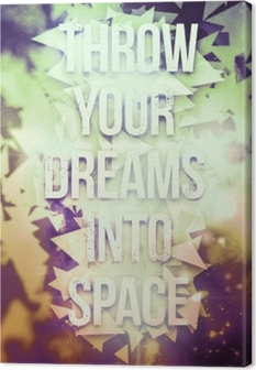 Tuval Baskı Motivasyon poster