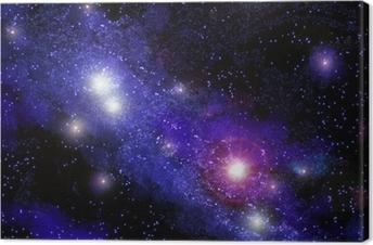 Tuval Baskı Nebula 01