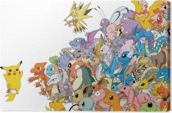 Tuval Baskı Pokemon