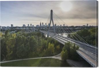 Tuval Baskı Polonya'da Varşova Panorama