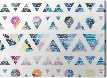 Tuval Baskı Tribal galaksi seamless pattern.