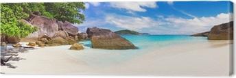 Tuval Baskı Tropikal plaj sahne Panorama, Tayland