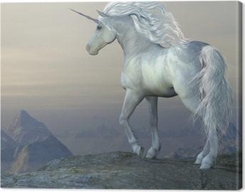 Tuval Baskı Unicorn Bluff