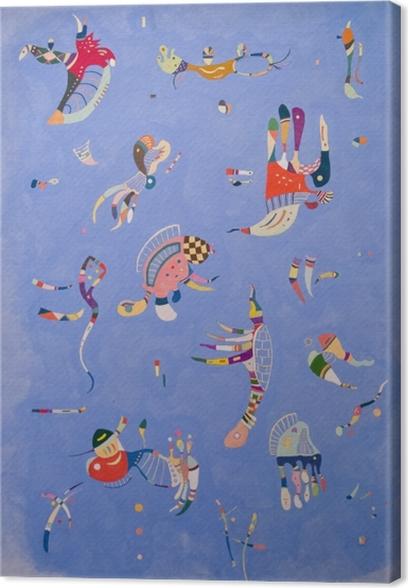 Tuval Baskı Vasiliy Kandinskiy - Gökyüzü mavi - Benzetiler