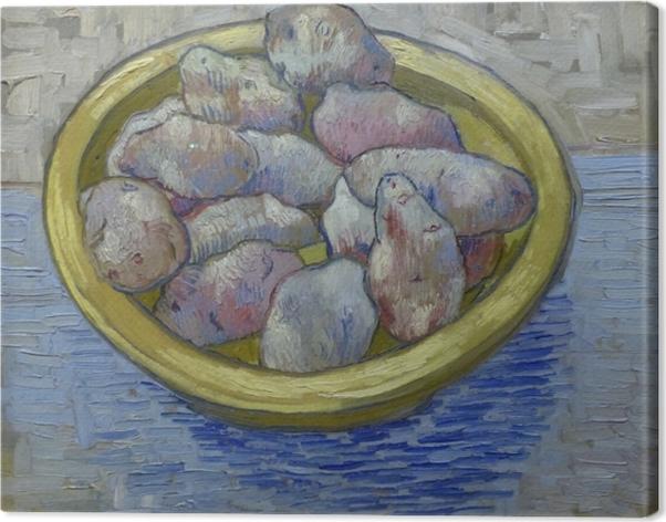 Tuval Baskı Vincent van Gogh - Sarı Bulaşık Patates - Reproductions