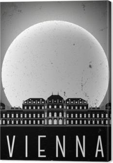 Tuval Baskı Viyana posteri
