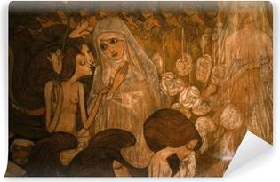 Tvättbar Fototapet Jan Toorop - De drie bruiden II