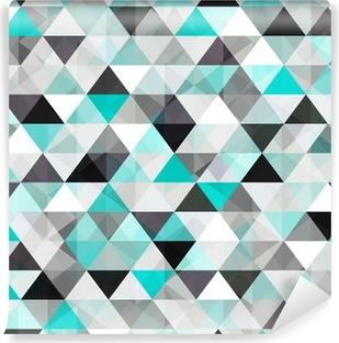 Tvättbar Fototapet Turkos glänsande vektor bakgrund