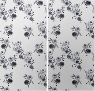 Tweeluik Minimalistische bloemmotief - Nina Ho