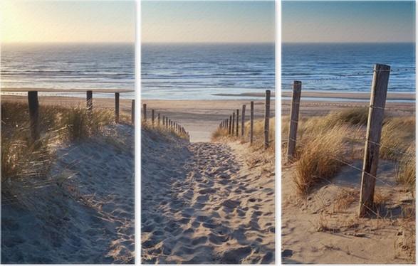 Üç Parçalı Altın güneş Kuzey deniz plaj yolu - Kullanim Alanlari