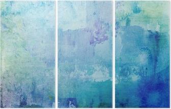 Üç Parçalı Grunge-kleckse-textur