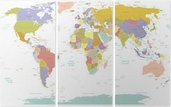 Üç Parçalı Yüksek Detay Dünya map.Layers kullanılır.